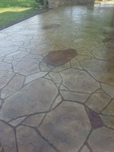 Stamped concrete patterns